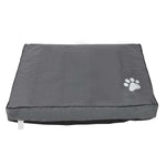 i.Pet Extra Extra Large Washable Canvas Pet Bed - Grey