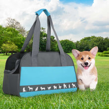 Load image into Gallery viewer, i.Pet Folding Portable Pet Carrier - Blue