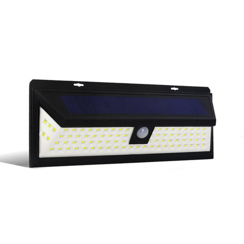 86 LED Solar Powered Senor Light - Black