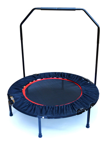 Mini Rebounder Trampoline With Handle Rail