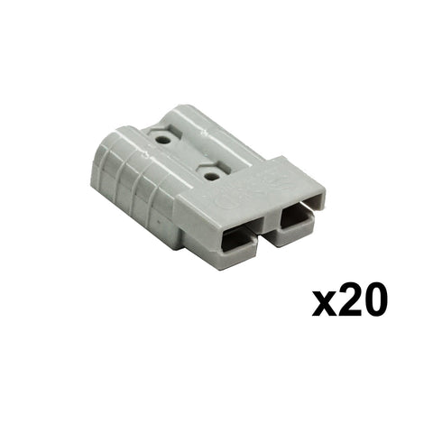 New 20X 50AMP Premium Anderson Style Plug Exterior Connector DC Power Solar