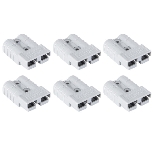 6x Anderson Style Plug Connector 50A 12-24V 6AWG DC Solar Power Tool