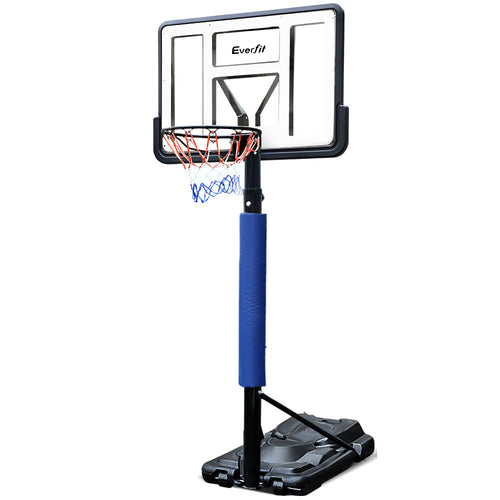 Everfit 3.05M Portable Basketball Stand System Height Adjustable Blue