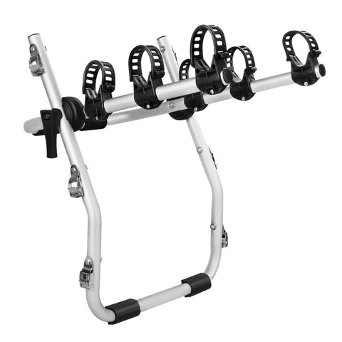 Giantz Aluminium Strap on Foldable Bike Rack - Black