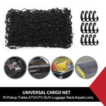 CARGO NET FOR UTE TRAILER TRUCK CAR LATEX BUNGEE150x180CM 12PC HOOK HEAVY DUTY