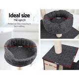 i.Pet 102cm Multi Level Cat Scratching Tree Post - Grey