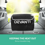 Devanti 35L Portable Fridge Freezer Cooler Caravan Camping