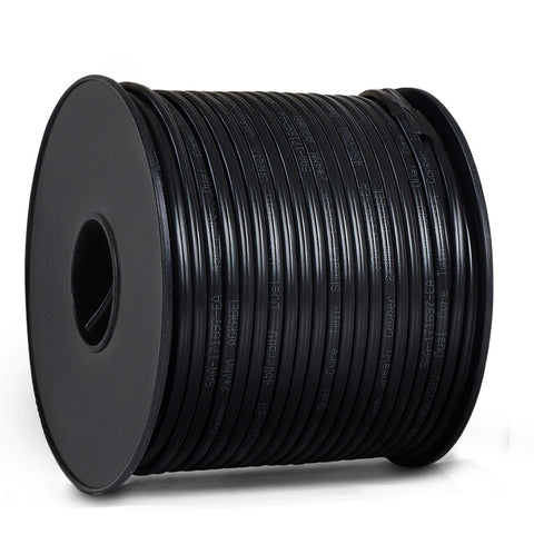 100M 3MM Twin Core Wire 2 Sheath Electrical Cable