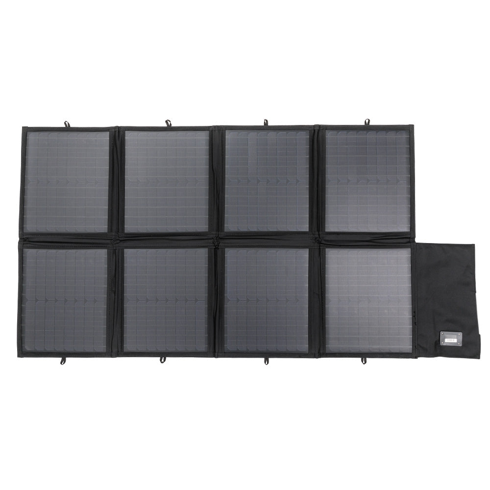 12V 160W Folding Solar Panel Kit Caravan Boat Camping Power Mono Charging Home