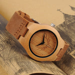 Limited Edition Buck Bamboo Wooden Watch