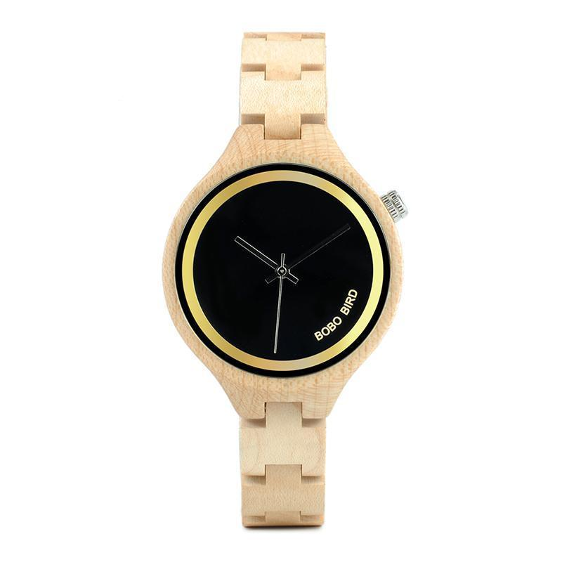 Exquisite Ladies Eco Bamboo Timepiece