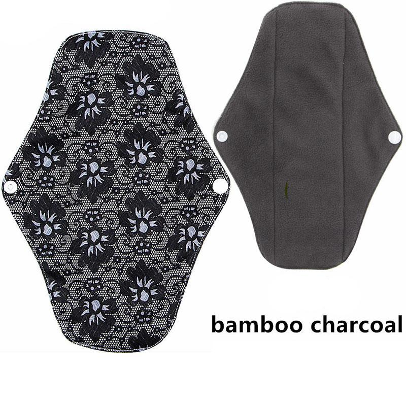 Funky Bamboo Cloth Reusable Sanitary Pads