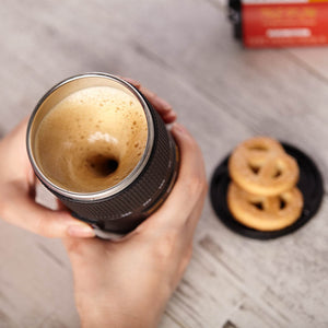Self Stirring Camera Lens Mug