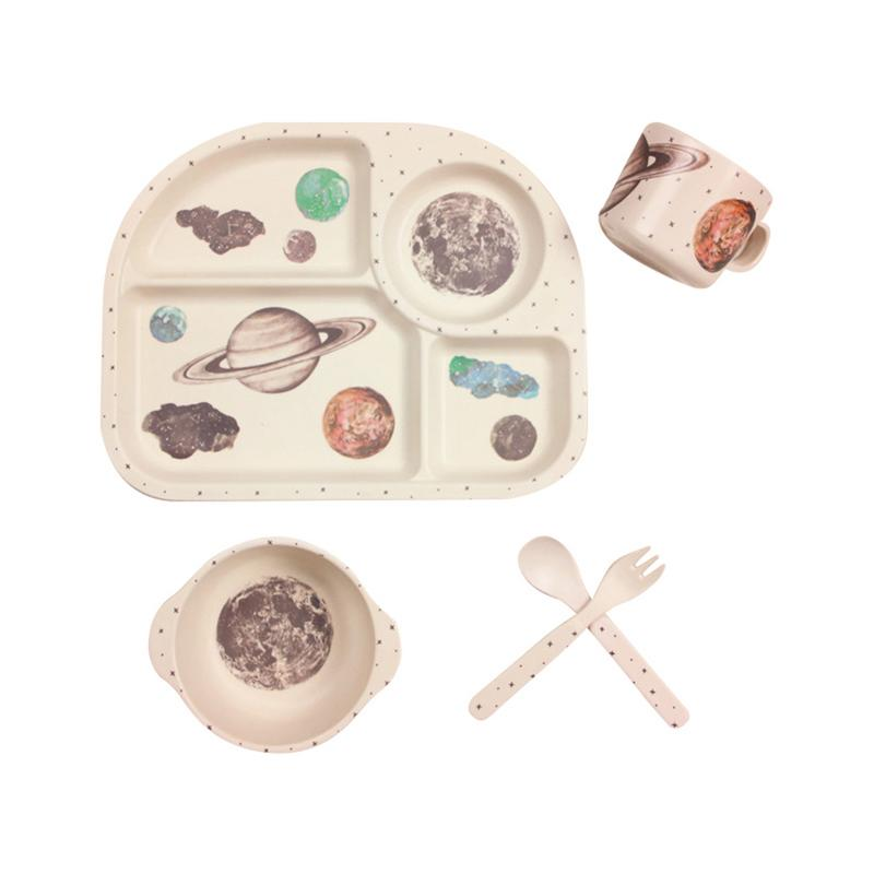 Eco-Bub Bamboo Dishware Set