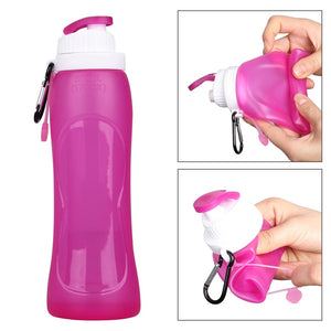 H2O On-the-Go Rollup Reusable Water Bottles