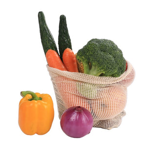 'Guilt-free' Eco Cotton Produce Bags