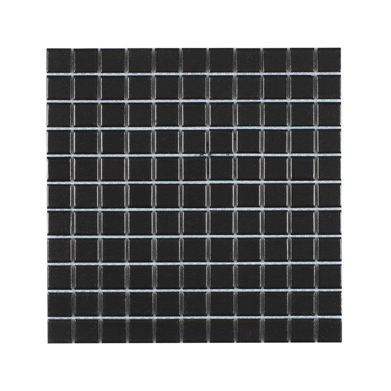 Titan Black Matt Mosaik 25x25 mm (300x300 mm)