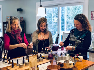 Virtual Candle Making Workshop ~ Private Event