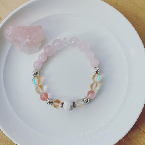 Rose Quartz + Mystic Aura