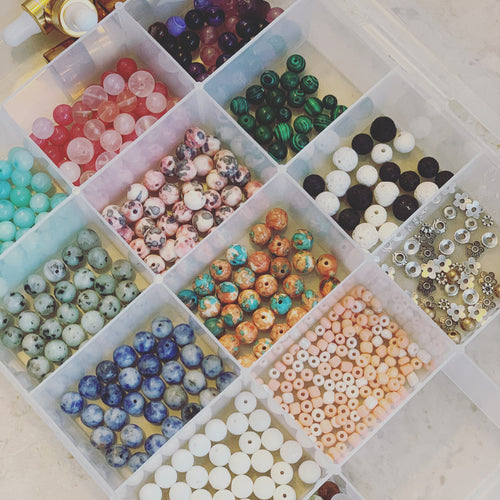 Gemstone Bracelet DIY Kit- 10 Bracelets Sale Price