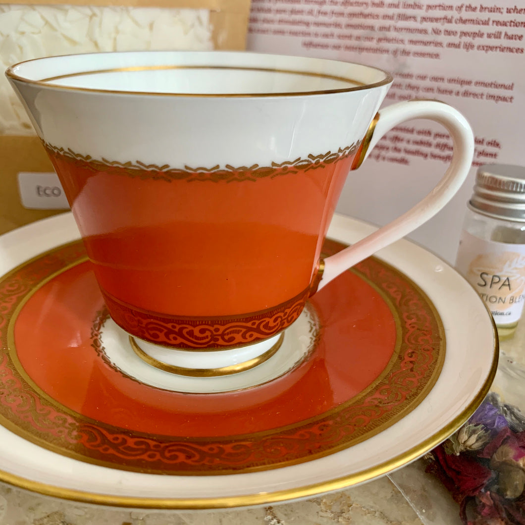 Teacup Candle Kit~ Aynsley