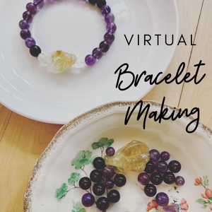Virtual Aromatherapy Bracelet  Workshop