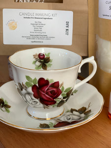 Teacup Candle Kit