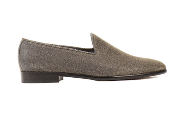 Tina Metallic Lurex Vegan Loafers