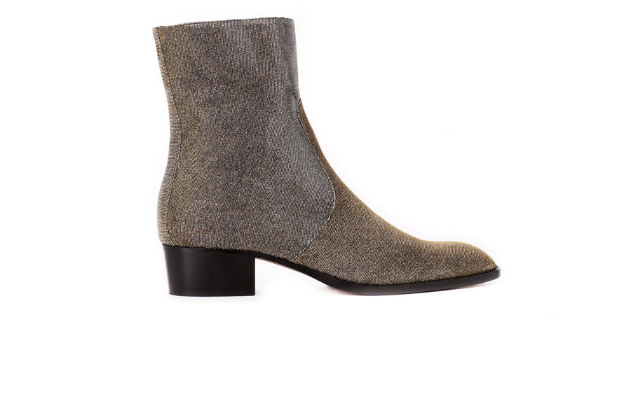 JeanMi Metallic Lurex Vegan Boot