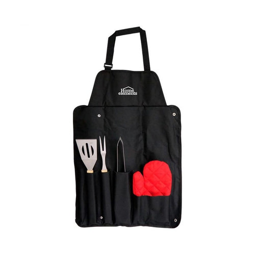 Set Utensilios BBQ 5 Piezas / Home Elements