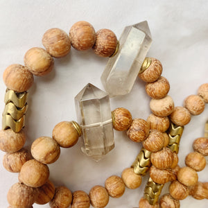 Smokey Quartz Diffuser Bracelet (One of a kind)