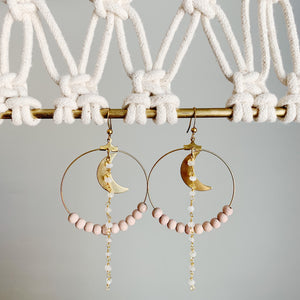 Moonstone Diffuser Earrings