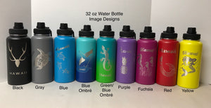 32 oz Water Bottles for Heather