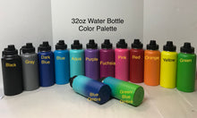 Load image into Gallery viewer, 32 oz Water Bottles for Heather