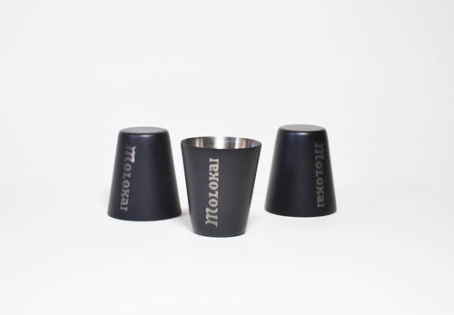 Stainless steel shot cups