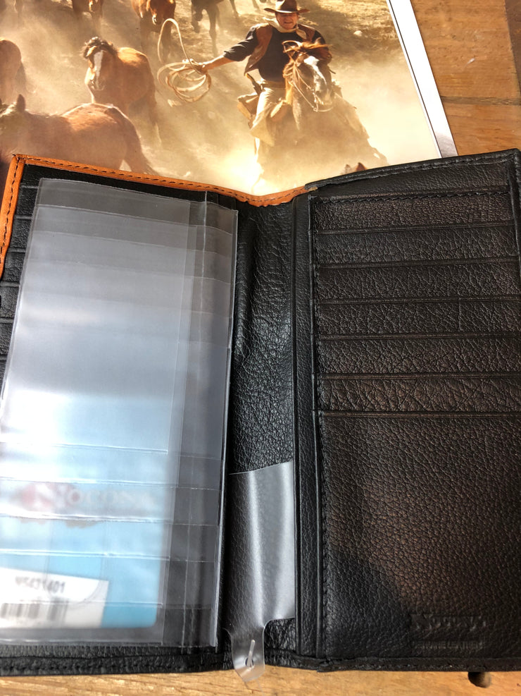 Men's cowboy praying wallet