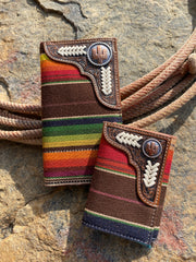 The Cactus Serape Tri-fold
