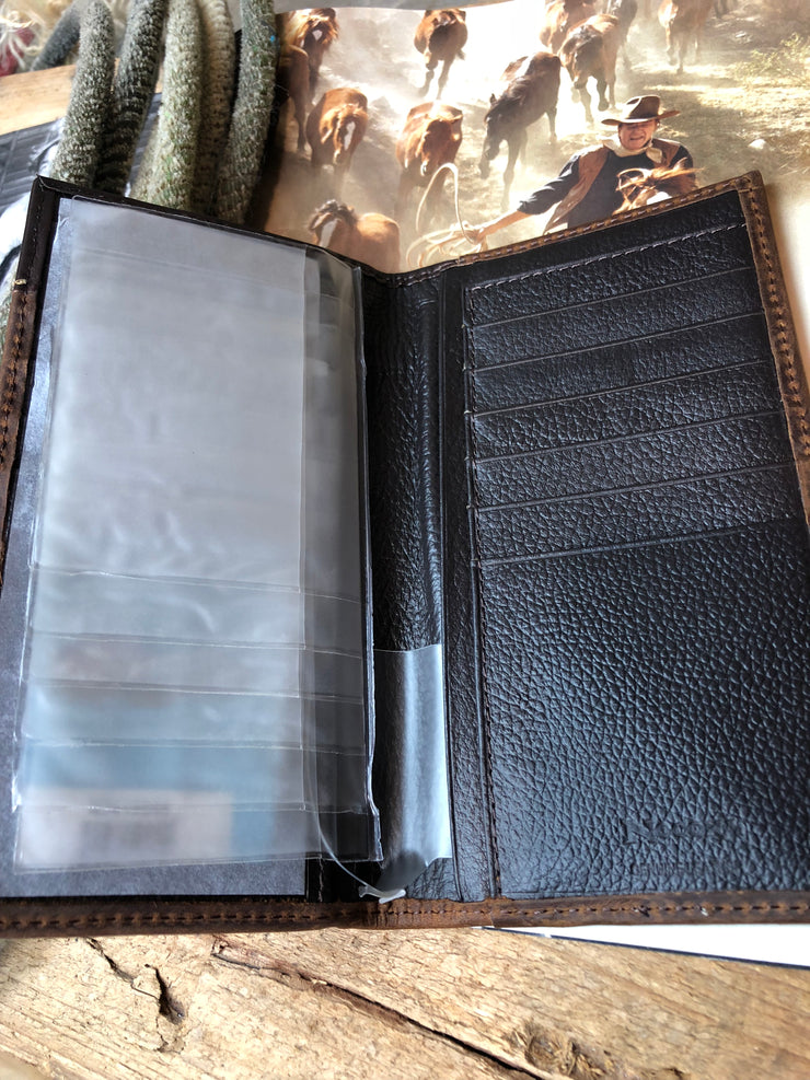 Men's concho wallet