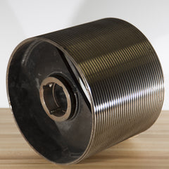 "10"" dia. grooved drum  for 3/16"" rope"