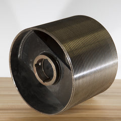 "10"" dia. grooved drum  for 1/8"" rope"