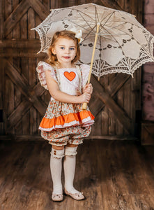 Heart Flutter Bloomer Set