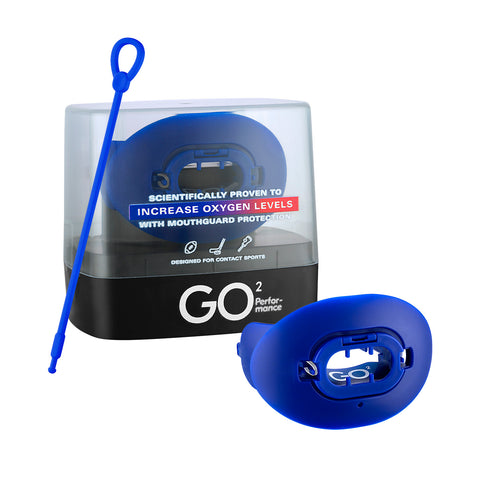 GO² Device for Football with Lip Guard and Tether