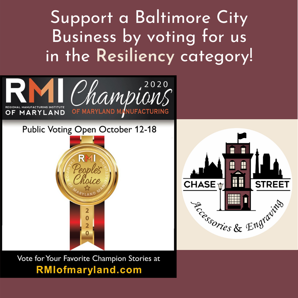 Vote for Chase Street A&E as a MD Champion of Manufacturing!
