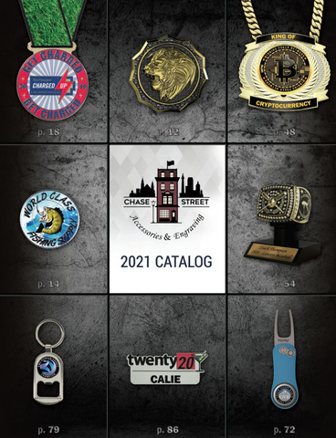 Chase Street Accessories & Engraving - lapel pins, medallions, medals