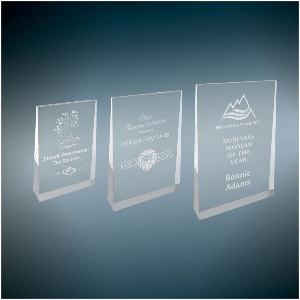 Acrylic Wedge Award - Acrylic Awards
