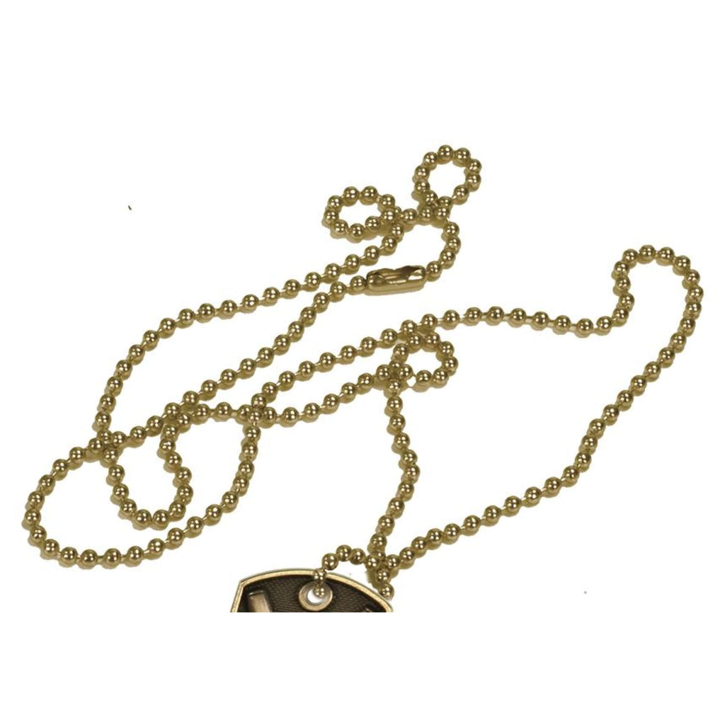 Badge Attachments - Ball chain (gold) - Chase Street Originals