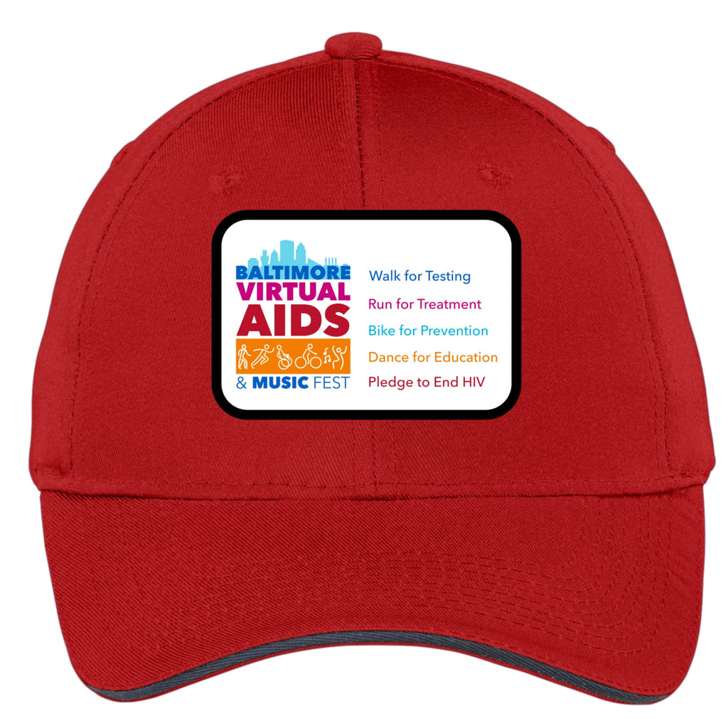 Baltimore AIDS Walk 2021 Cap with Patch - Chase Street Originals