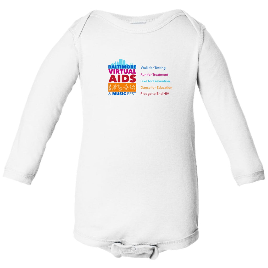 Baltimore AIDS Walk 2021 Infant Long Sleeve - Chase Street Originals