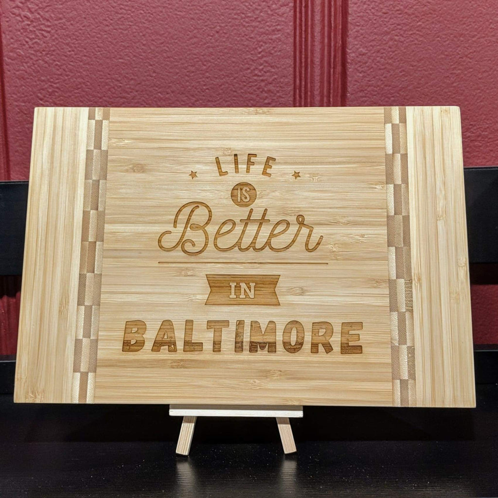 Bamboo Cutting Board - Home Gifts