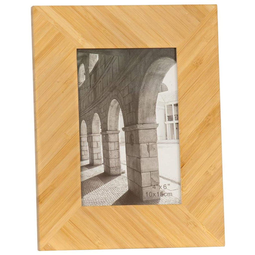 Bamboo Picture Frame - 4 x 6 - Decor